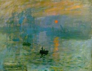 sole al tramonto_Claude_Monet